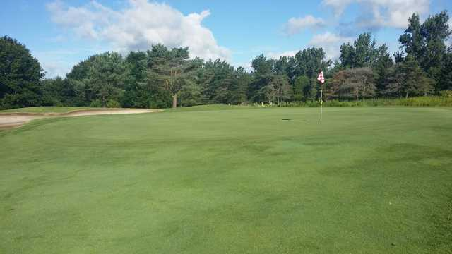 A view of a hole at Brooklea Golf and Country Club