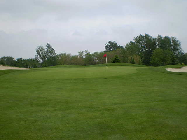A view of a hole at Mitchell Golf and Country Club