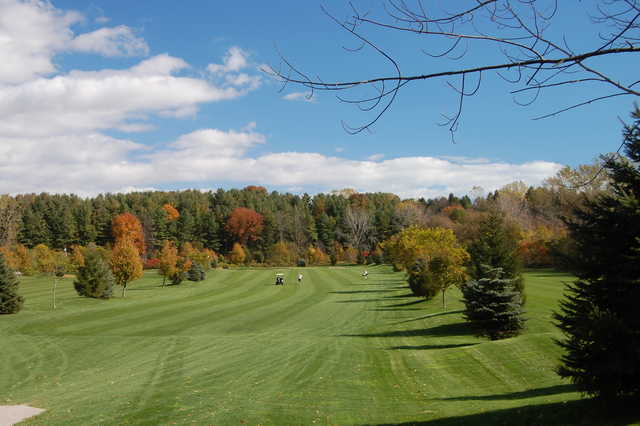 A view of the 12th fairway at Kettle Creek Golf and Country Club