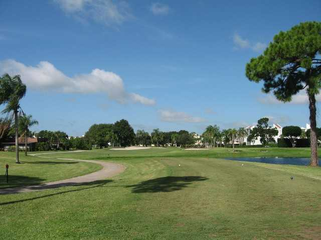 A view of the 7th hole at Poinciana Country Club