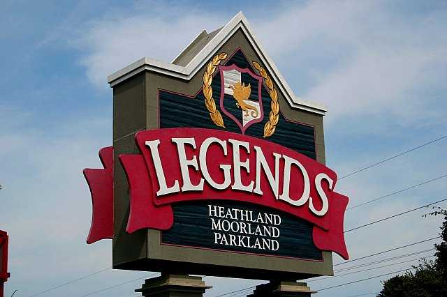 Legends GC sign (E. DeBear)