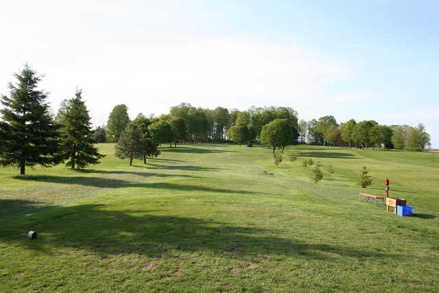 A sunny day view from Walkerton Golf and Country Club