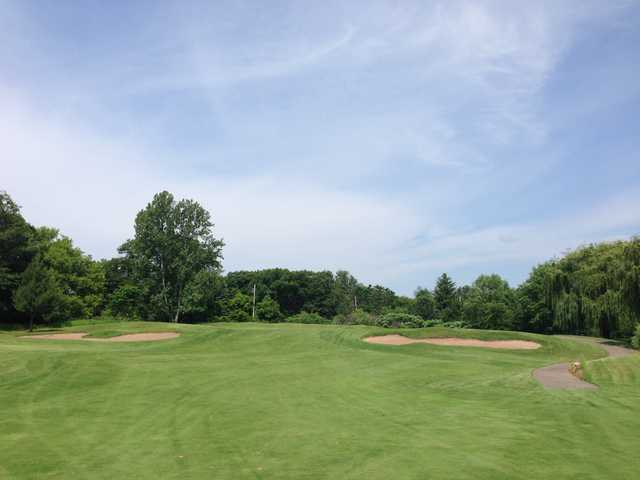 View from #17 at Stillwater Oaks Golf Course