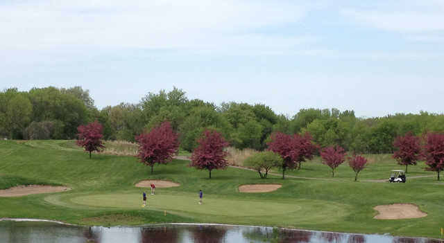 View from Stillwater Oaks Golf Course