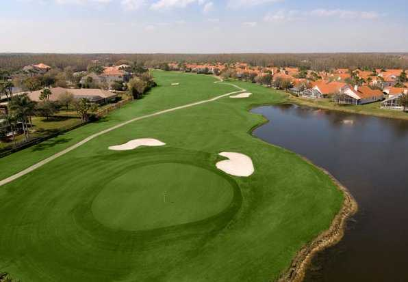 Aerial view from Cheval Golf and Athletic Club