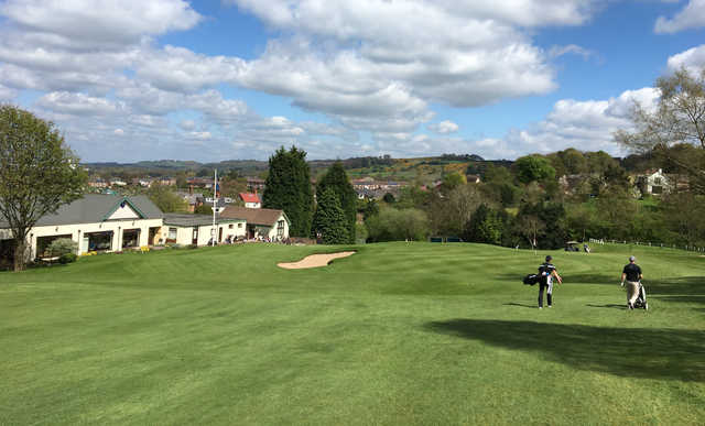 A view from Macclesfield Golf Club