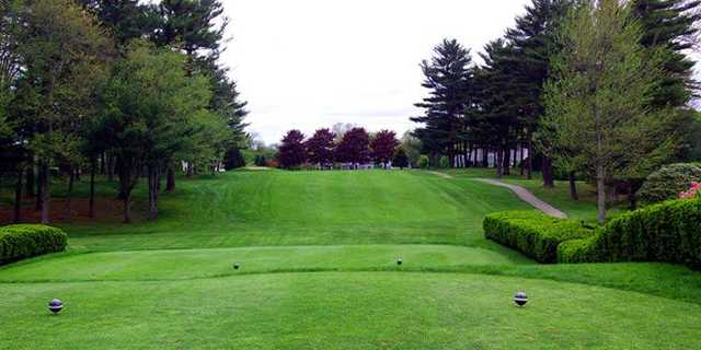 A view from a tee at Country Club of Halifax