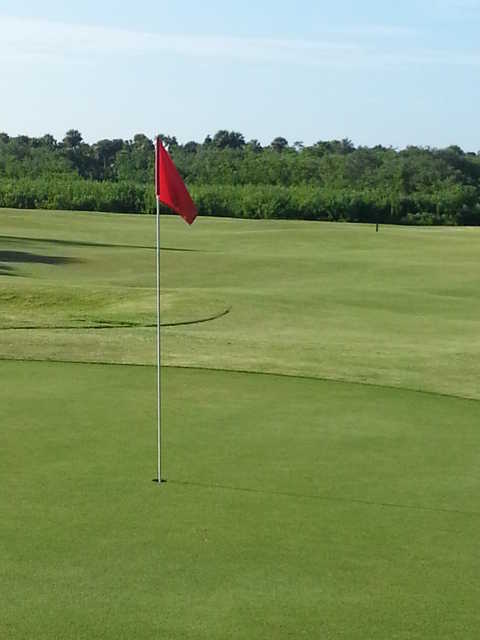 A view of a hole at Aquarina Country Club