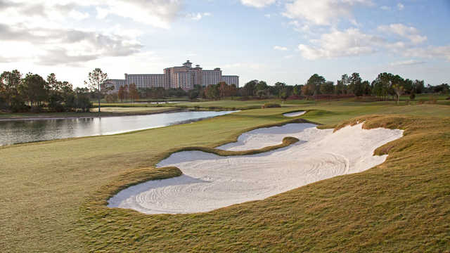 View of the 14th hole from Shingle Creek Golf Club
