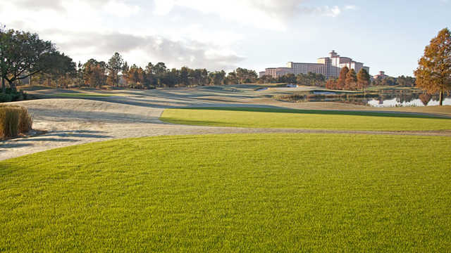 View of the 17th hole from Shingle Creek Golf Club