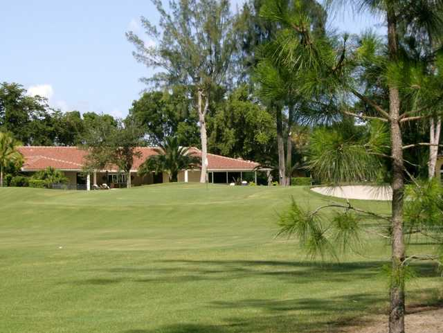 A view of a green at Senator Course from Shula's Golf Club.