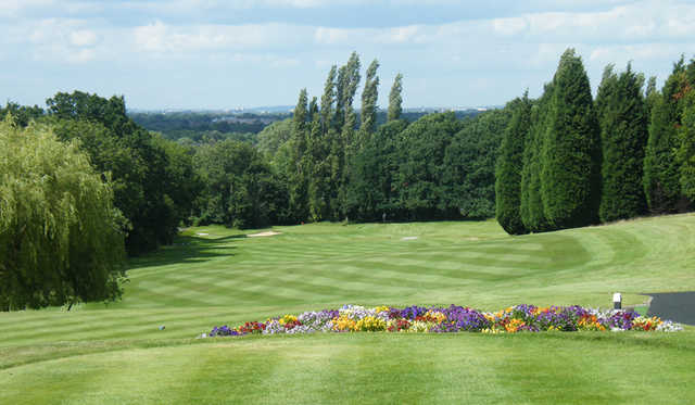 A view from Surbiton Golf Club