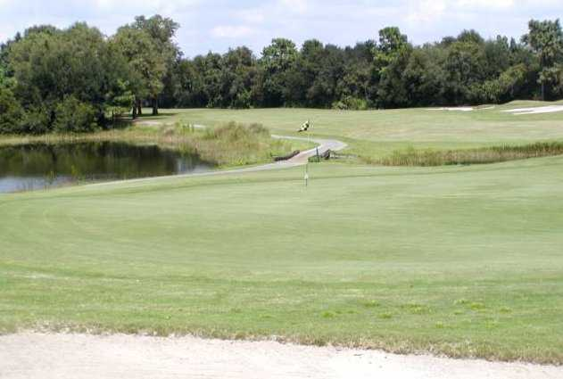 A view of hole #4 at Country Club of Mount Dora