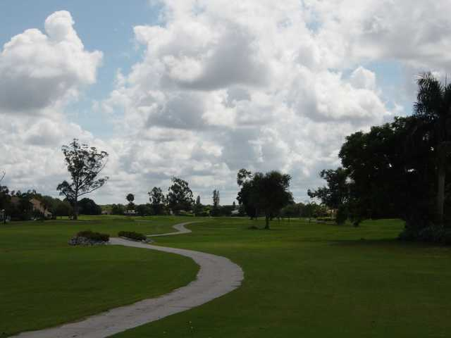 A view of the 4th fairway at Hibiscus Golf Club