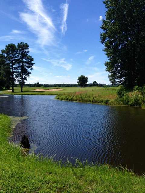 View from Hobbs Hole Golf Course
