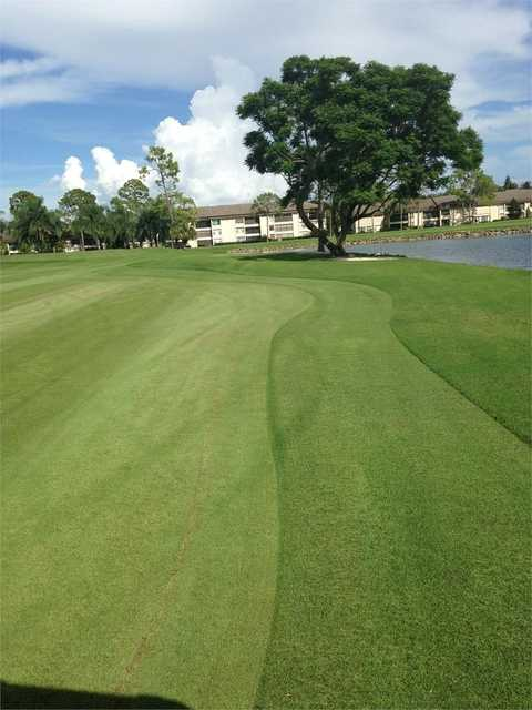 View of the 14th green at The Hideaway Country Club