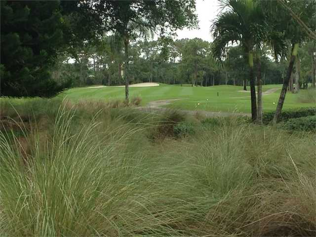 View of the 1st tee and green at The Hideaway Country Club
