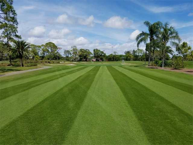 On the 10th fairway at The Hideaway Country Club