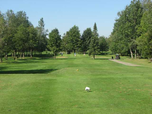 A view from a tee at Club de Golf Heriot