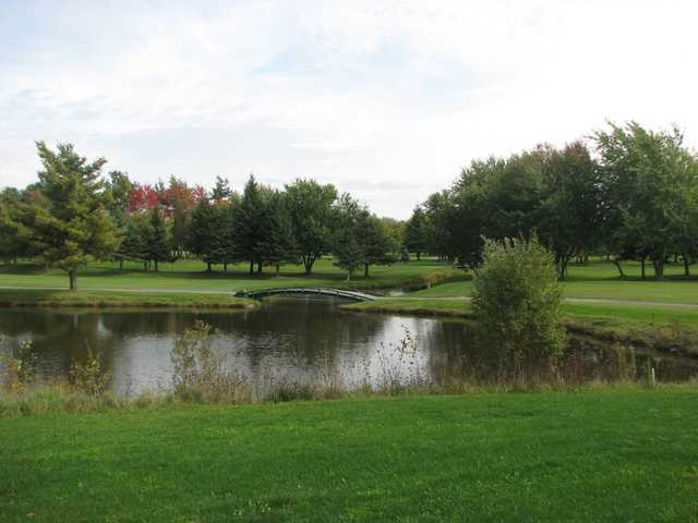 A view over the water from Club de Golf Heriot