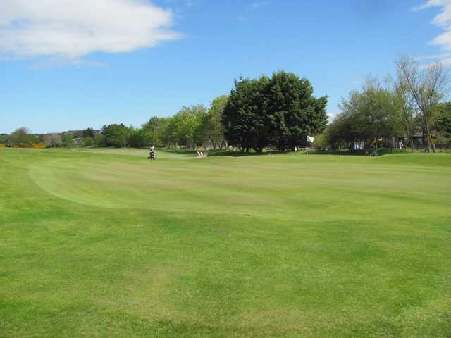 View of the 2nd hole at Nairn Dunbar Golf Club