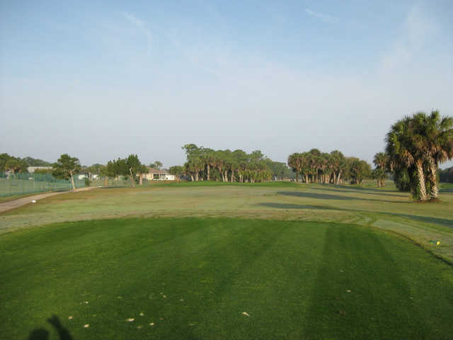 A view from the 11th tee at Hidden Lakes Golf Course