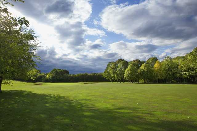 A view from Thorpe Wood Golf Course