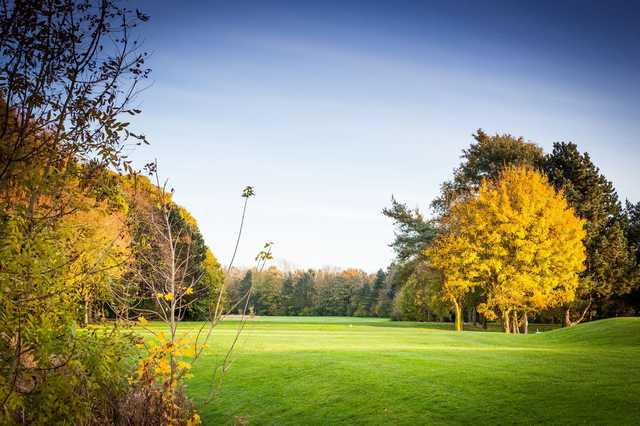 A view from Orton Meadows Golf Course