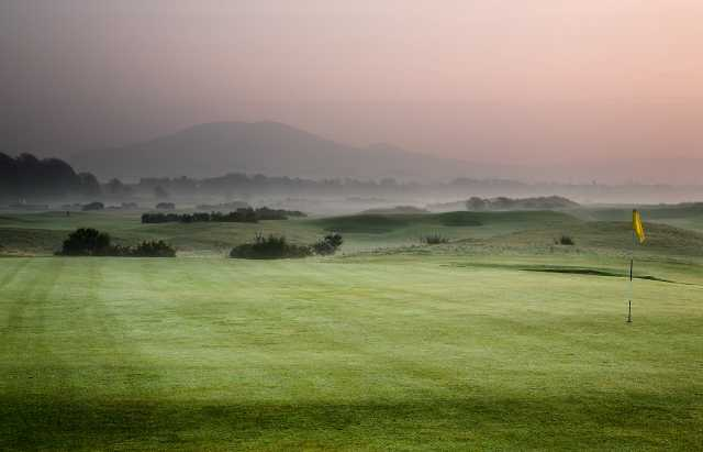 A view from Leven Links Golf Course
