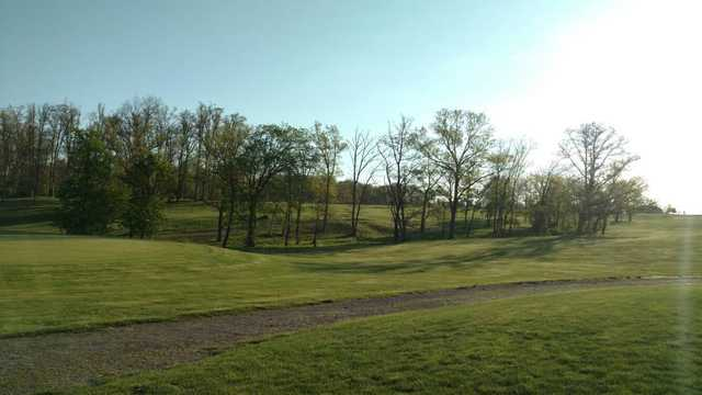 A sunny day view from Split Rock Golf Club