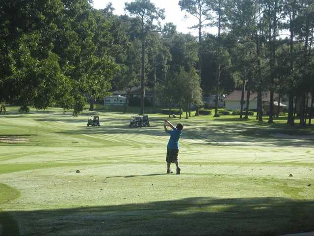 A view from Ocala Golf Club