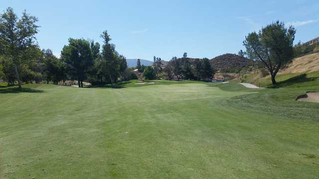 A view from the 2nd fairway at RedHawk Golf Club