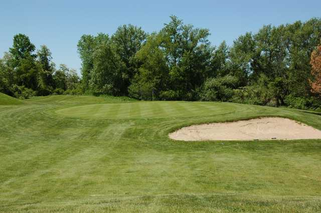 A view of a green at Regulation Course from Myth Golf & Banquet