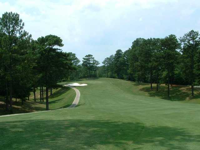 A view from a fairway at Woodland Hills Golf Club