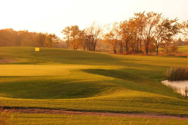 A view of the 8th hole at Island from Geneva Golf Club.