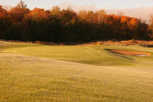 A view of the 8th green at Marsh from Geneva Golf Club.