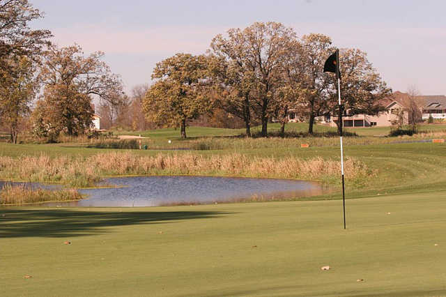 A view of the 5th hole at Ponds from Geneva Golf Club.