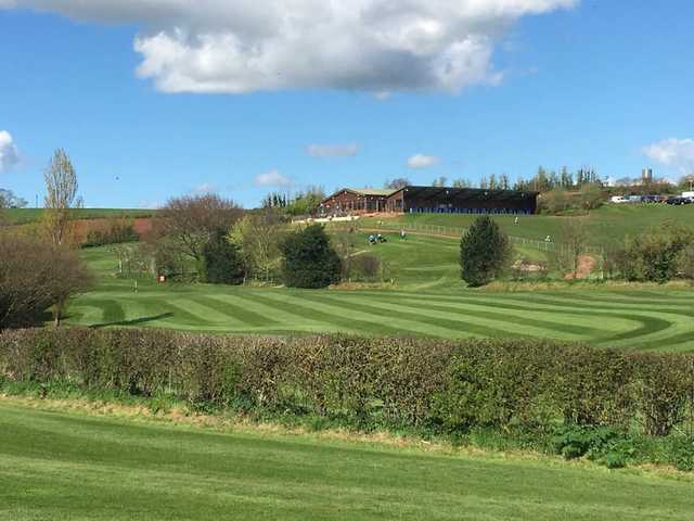 A view from Exminster Golf Centre