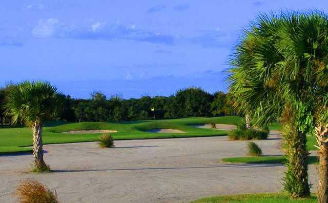 A view of green #17 at Hammock Creek Golf Club