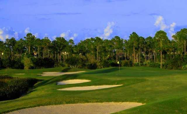 A view of hole #16 at Hammock Creek Golf Club