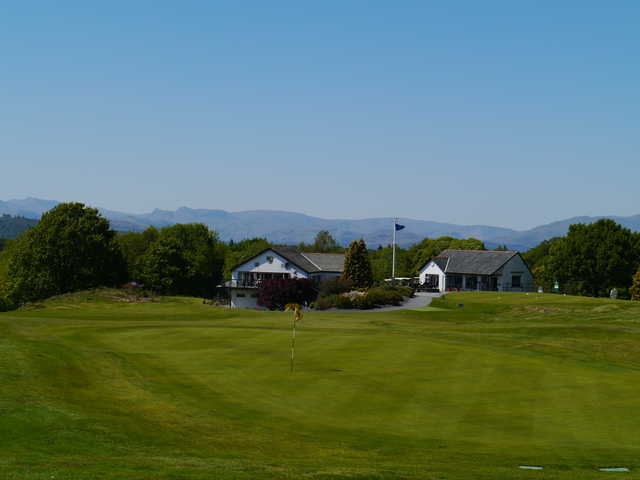 View of the finishing hole at Windermere Golf Club