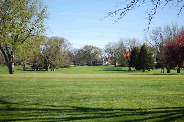 View of a green at Hillcrest Golf & Country Club