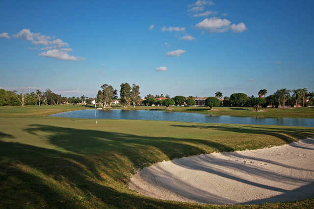 A view of green at Grand Palms Golf & Country Club