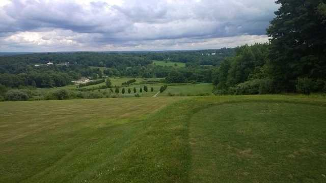 View from the 7th tee at Vineyard Valley Golf Club