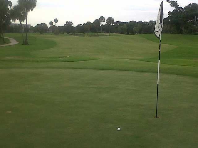 A view of hole #11 at Palm-Aire Country Club - Cypress Course