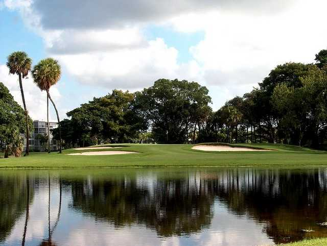 A view of the 8th hole at Palm-Aire Country Club - Cypress Course