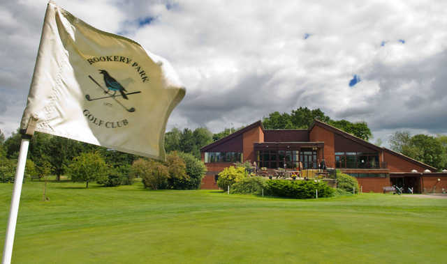 View of the clubhouse at Rookery Park Golf Club