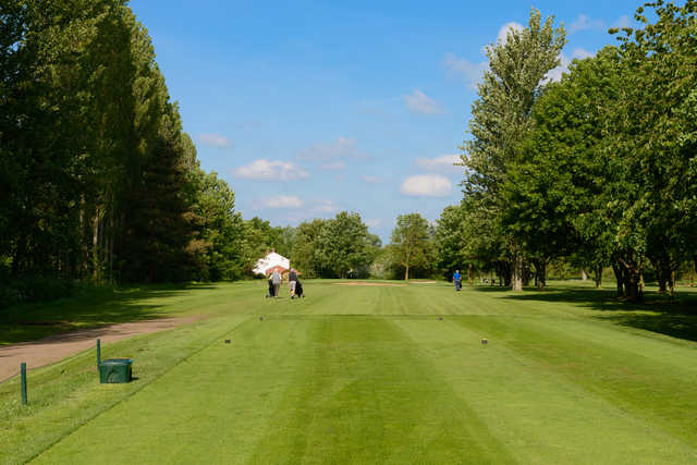 View from a tee at Rookery Park Golf Club