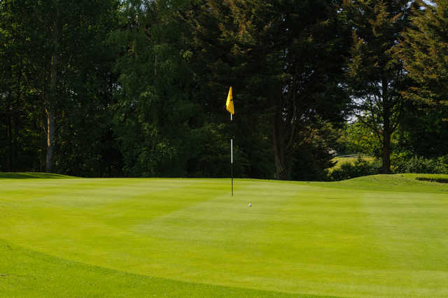 View from a green at Rookery Park Golf Club
