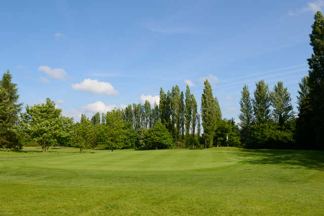 View of a green at Rookery Park Golf Club